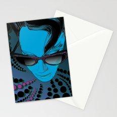 Wanda Blue Aqua Stationery Cards