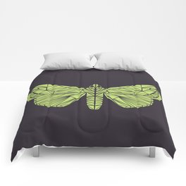 The envy of the moth - Geometric design Comforters