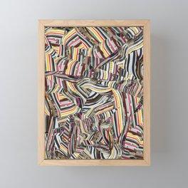 Origami Fruity One Framed Mini Art Print