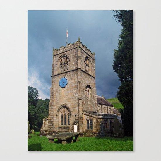 St. Wilfrid, Burnsall Canvas Print