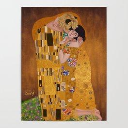 Miraculous Gustav Klimt Poster
