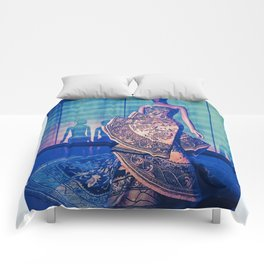 China Through The Looking Glass 1 Comforters