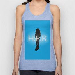 H.E.R. Music Singer Best Part Album Merch Unisex Tank Top