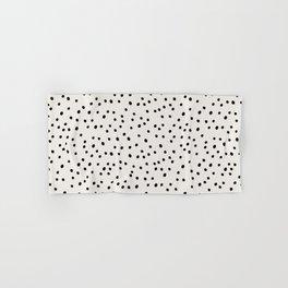Preppy Spots Digita Drawing Hand & Bath Towel