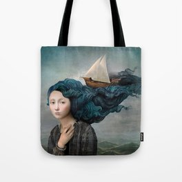 Message from the Sea Tote Bag
