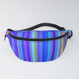 New Year Stripes Fanny Pack