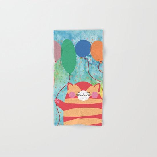 Red Cat Hand & Bath Towel