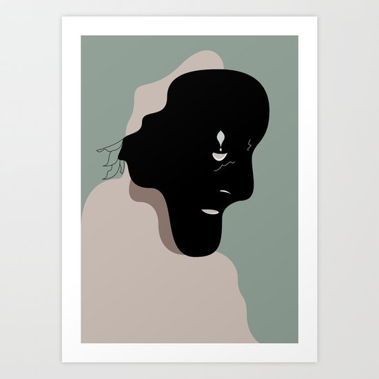 The Black Mask Collection 004 Art Print