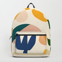 Abstraction_Floral_001 Backpack