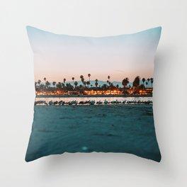 Summer Sunset VI Throw Pillow