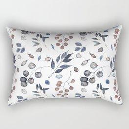 Watercolor leaves treasury Rectangular Pillow