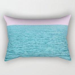 Teal Water Rectangular Pillow