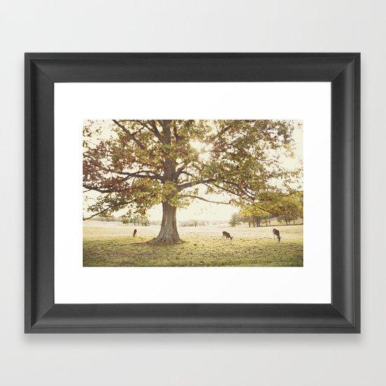 The Forge Framed Art Print
