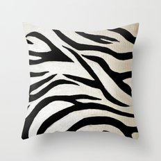 Tyger Stripes Throw Pillow