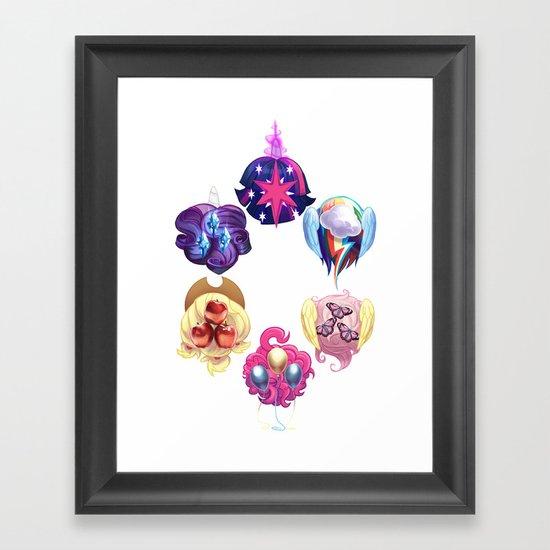 MLP: Altogether Now Framed Art Print