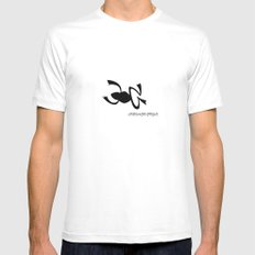 Frog MEDIUM Mens Fitted Tee White