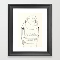 gentle giant Framed Art Print