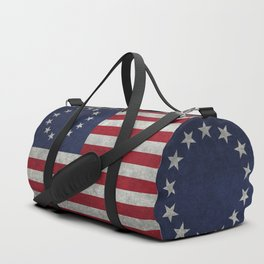 USA Betsy Ross flag - Vintage Retro Style Duffle Bag