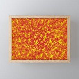 Ribbons of Fire Framed Mini Art Print