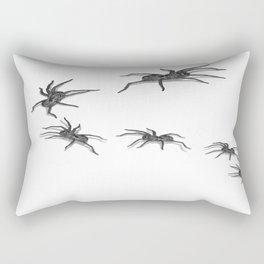 Wolf Spiders Rectangular Pillow