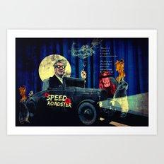Speed Roadster Art Print