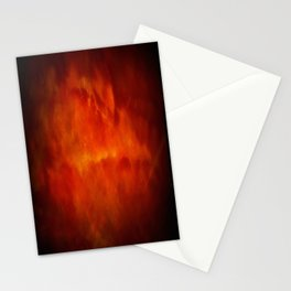 Paradise Fire - Memorial - Fire In The Sky - Clouds Of Fire Stationery Cards