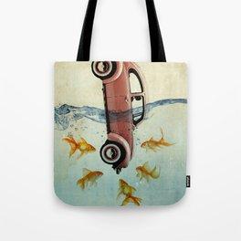 Bug and goldfish Tote Bag