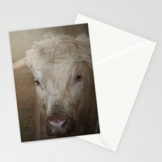 Longhorn cow Stationery Cards