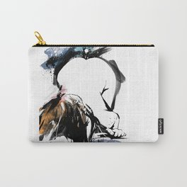 Shibari - Japanese BDSM Art Painting #8 Carry-All Pouch