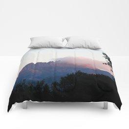 Cradle Mountain Sunrise Comforters
