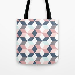 Starry cubes Tote Bag