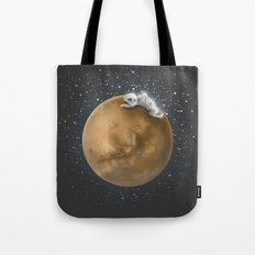 Lost in a Space / Marsporror Tote Bag