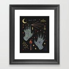 A Curse Upon You! Framed Art Print