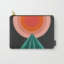 Way Decent - 70s retro throwback minimal sun california socal 1970's style Carry-All Pouch