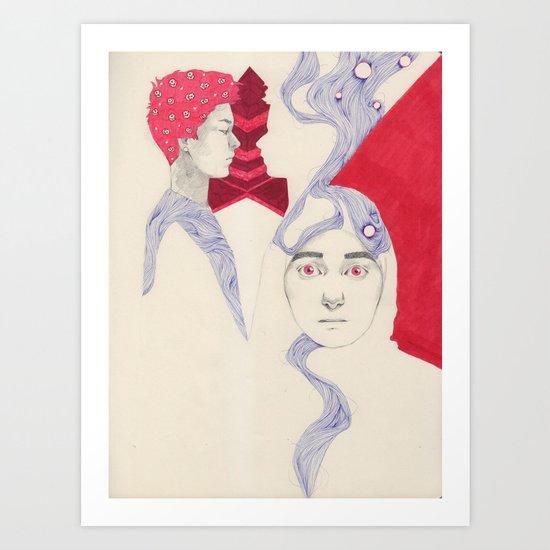 The Domino Effect Art Print
