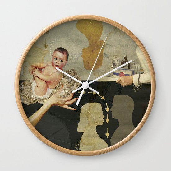 Modern Day Practice Wall Clock