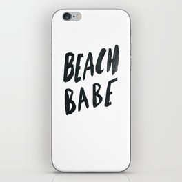 Beach Babe iPhone Skin