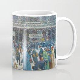 La Gare de l'Est sous la neige, 1917 Maximilian Luce Coffee Mug