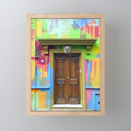 Painted Entrance, Palermo, Buenos Aires Framed Mini Art Print