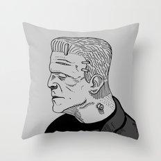 Karloff's Monster Throw Pillow
