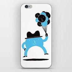 Blue-Boy Balloon iPhone & iPod Skin