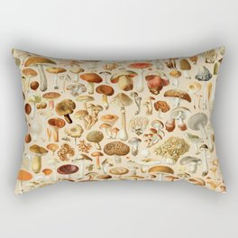 Vintage Mushroom Designs Collection Rectangular Pillow