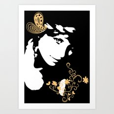 sweetly Art Print