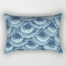 Seafoam Coral Rectangular Pillow
