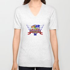 Sonic and Tails Unisex V-Neck