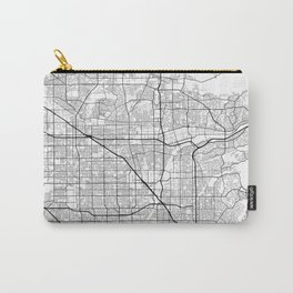 Minimal City Maps - Map of Anaheim, California, United States Carry-All Pouch