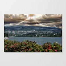 Bridge Near Vancouver Canvas Print