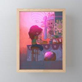 Ramen Framed Mini Art Print