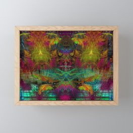 Extraterestrial Palace 5 Framed Mini Art Print