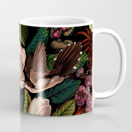 FLORAL AND BIRDS XIV Coffee Mug